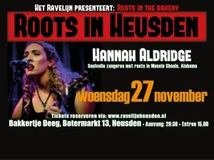 Hannah Aldrigde - Roots in Heusden
