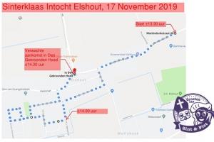 Sinterklaas intocht Elshout