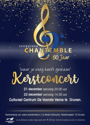 Kerstconcert Zanggroep Chantemble