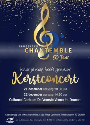 Kerstconcert Zanggroep Chantemble